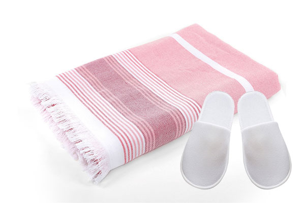 Waist Cloth & Spa Disposable Slipper